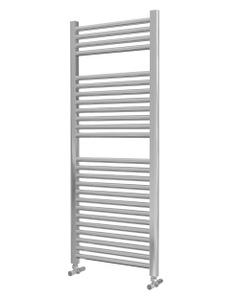 Lazzarini Roma Towel Rail - 25mm, Chrome Straight, 1230x500mm