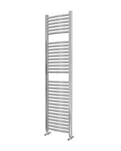 Lazzarini Roma Towel Rail - 25mm, Chrome Curved, 1512x400mm