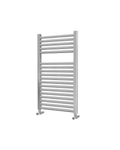 Lazzarini Roma Towel Rail - 25mm, Chrome Straight, 842x500mm