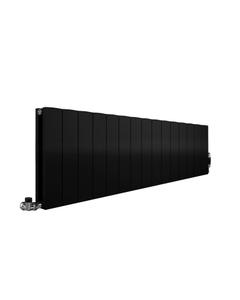Apollo Magenta Aluminium Radiator, Black Metallic Flat, 300mm x 1435mm