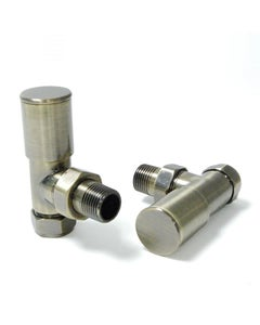 West Manual Valves, Milan, Antique Brass Angled - 10mm