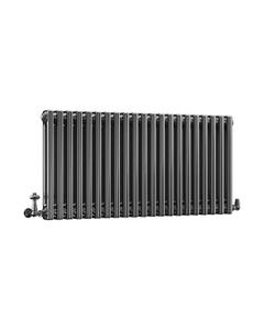 DQ Modus 2 Column Radiator, Black Nickel, 500mm x 622mm
