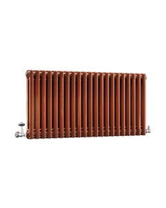 DQ Modus 2 Column Radiator, Copper Lacquer, 500mm x 622mm