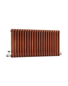 DQ Modus 2 Column Radiator, Copper Lacquer, 500mm x 990mm