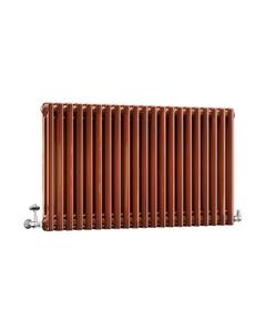 DQ Modus 2 Column Radiator, Copper Lacquer, 600mm x 622mm