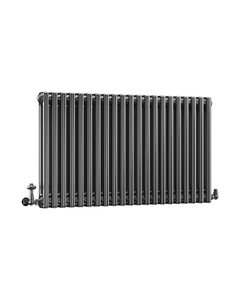 DQ Modus 2 Column Radiator, Black Nickel, 600mm x 990mm