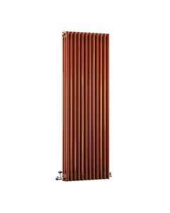 DQ Modus 3 Column Radiator, Copper Lacquer, 1800mm x 300mm