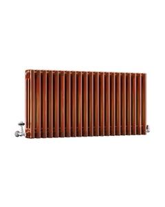 DQ Modus 3 Column Radiator, Copper Lacquer, 500mm x 622mm