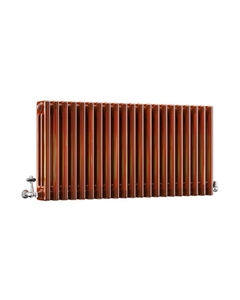 DQ Modus 3 Column Radiator, Copper Lacquer, 500mm x 1220mm