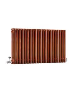 DQ Modus 3 Column Radiator, Copper Lacquer, 600mm x 622mm
