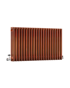 DQ Modus 3 Column Radiator, Copper Lacquer, 600mm x 1864mm