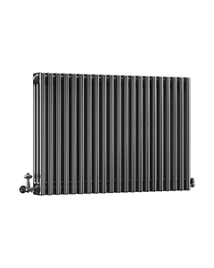 DQ Modus 3 Column Radiator, Black Nickel, 750mm x 622mm