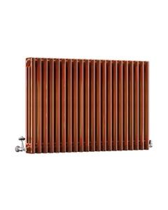 DQ Modus 3 Column Radiator, Copper Lacquer, 750mm x 622mm