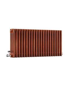DQ Modus 4 Column Radiator, Copper Lacquer, 500mm x 622mm