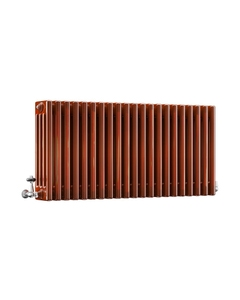 DQ Modus 4 Column Radiator, Copper Lacquer, 500mm x 1220mm