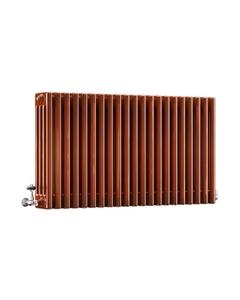 DQ Modus 4 Column Radiator, Copper Lacquer, 600mm x 806mm