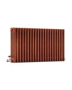 DQ Modus 4 Column Radiator, Copper Lacquer, 600mm x 990mm