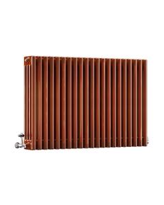 DQ Modus 4 Column Radiator, Copper Lacquer, 750mm x 622mm