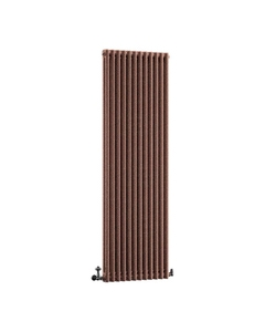 DQ Modus 2 Column Radiator, Historic Copper, 1800mm x 530mm
