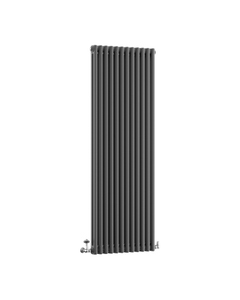 DQ Modus 2 Column Radiator, Slate, 1800mm x 530mm
