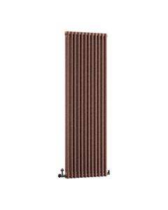DQ Modus 2 Column Radiator, Historic Copper, 1800mm x 300mm