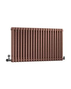 DQ Modus 2 Column Radiator, Historic Copper, 600mm x 622mm