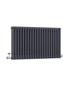 DQ Modus 2 Column Radiator, Anthracite, 600mm x 622mm
