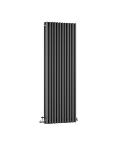 DQ Modus 3 Column Radiator, Slate, 1800mm x 530mm