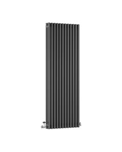 DQ Modus 3 Column Radiator, Slate, 1800mm x 392mm