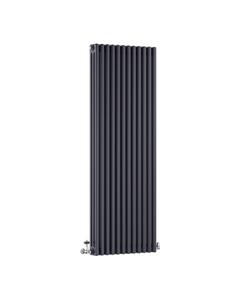 DQ Modus 3 Column Radiator, Anthracite, 1800mm x 392mm