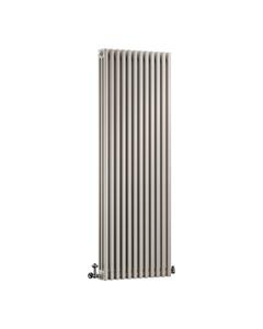 DQ Modus 3 Column Radiator, Stone Grey, 1800mm x 392mm