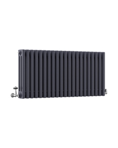 DQ Modus 3 Column Radiator, Anthracite, 500mm x 622mm
