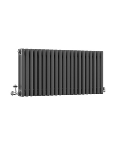 DQ Modus 3 Column Radiator, Slate, 500mm x 806mm