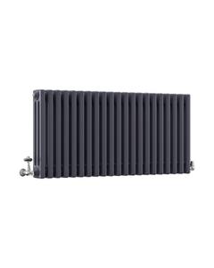 DQ Modus 3 Column Radiator, Anthracite, 500mm x 1220mm