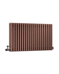 DQ Modus 3 Column Radiator, Historic Copper, 600mm x 1634mm