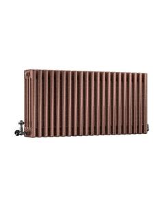 DQ Modus 4 Column Radiator, Historic Copper, 500mm x 622mm