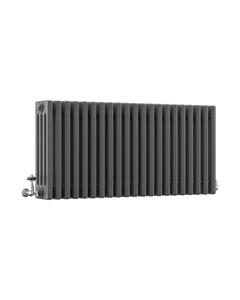 DQ Modus 4 Column Radiator, Slate, 500mm x 622mm