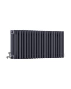 DQ Modus 4 Column Radiator, Anthracite, 500mm x 622mm