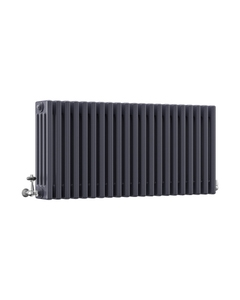 DQ Modus 4 Column Radiator, Anthracite, 500mm x 990mm