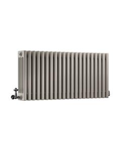 DQ Modus 4 Column Radiator, Stone Grey, 500mm x 1404mm
