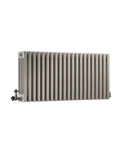 DQ Modus 4 Column Radiator, Stone Grey, 500mm x 1634mm