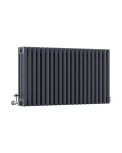 DQ Modus 4 Column Radiator, Anthracite, 600mm x 806mm