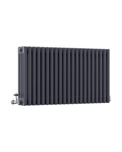 DQ Modus 4 Column Radiator, Anthracite, 600mm x 990mm