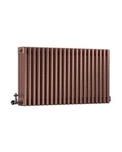 DQ Modus 4 Column Radiator, Historic Copper, 600mm x 1220mm