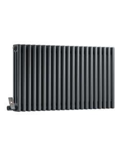 DQ Modus 3 Column Radiator, Anthracite, 600mm x 692mm (Electric)
