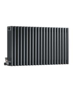 DQ Modus 4 Column Radiator, Anthracite, 600mm x 876mm (Electric)