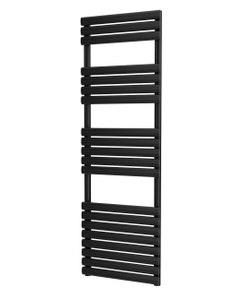 Trade Direct Saturn Bar Towel Rail, Black, 1595x500mm