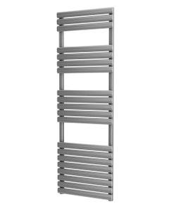 Trade Direct Saturn Bar Towel Rail, Silver, 1595x500mm