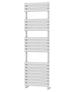 Trade Direct Saturn Bar Towel Rail, White, 1595x500mm