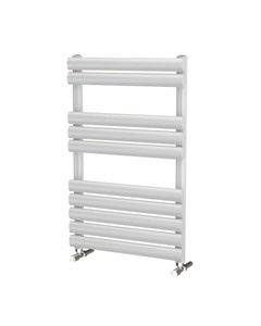 Trade Direct Saturn Bar Towel Rail, White, 830x500mm